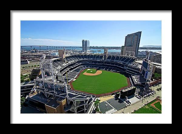 San Diego Padres Baseball Stadium by Daniel Hagerman