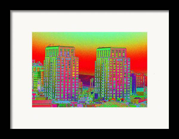 San Diego Framed Print featuring the photograph San Diego Scenic by Richard Henne
