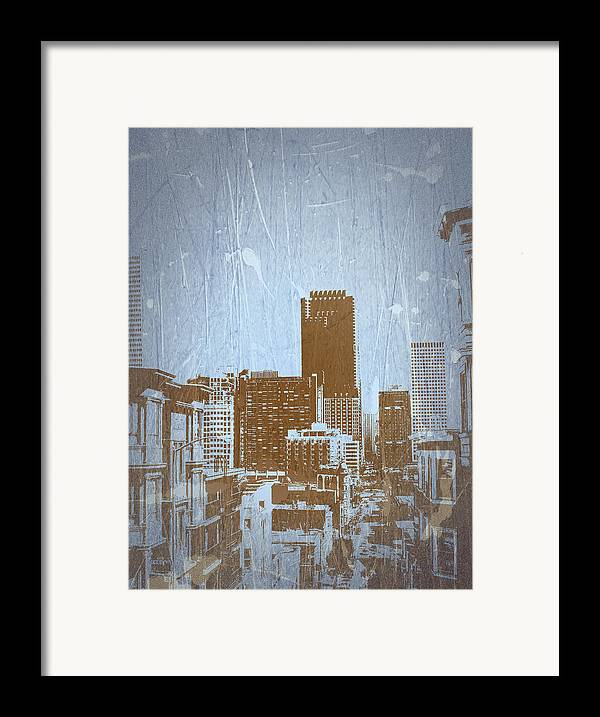 Framed Print featuring the photograph San Francisco 2 by Naxart Studio