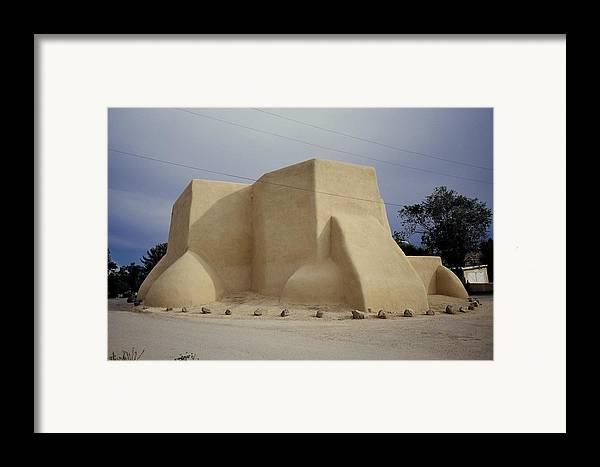 Church Framed Print featuring the photograph San Francisco De Taos by Lynard Stroud
