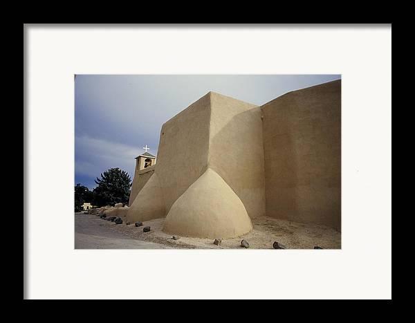 Church Framed Print featuring the photograph San Francisco De Taos Two by Lynard Stroud