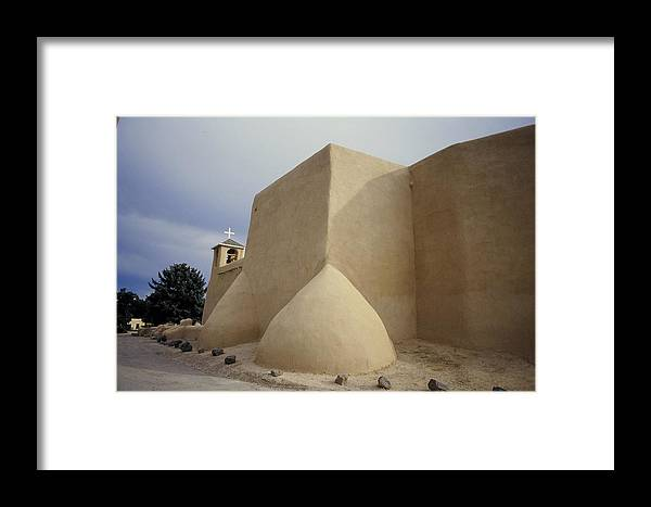 Church Framed Print featuring the photograph San Francisco De Taos Two by Lynard Stroud