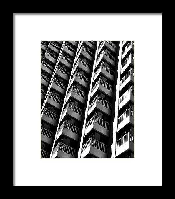 San Francisco Framed Print featuring the photograph San Francisco Financial District by Edward Hernandez
