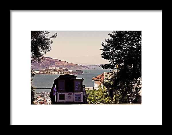 San Francisco Framed Print featuring the photograph San Francisco Treat by Ty Helbach