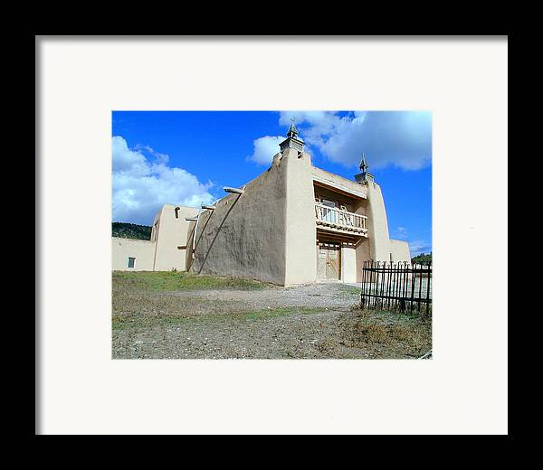 Church Framed Print featuring the photograph San Jose De Gracia Number 2 by Joseph R Luciano