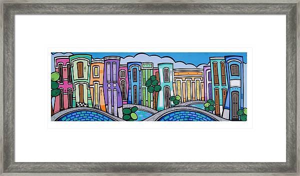 San Juan Inspira Framed Print By Mary Tere Perez