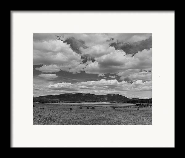 Landscape Framed Print featuring the photograph San Juan Summer by Allan McConnell