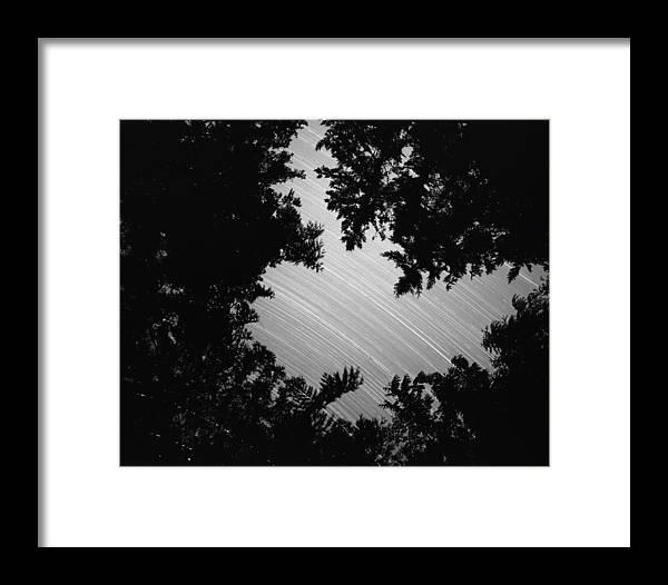 Nature Framed Print featuring the photograph San Juan Time Lapse by Benjamin Garvey