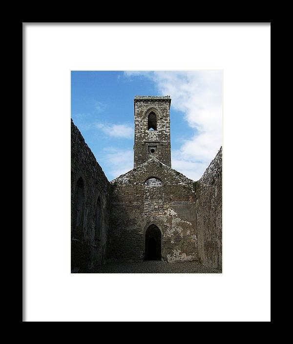 Ireland Framed Print featuring the photograph Sanctuary Fuerty Church Roscommon Ireland by Teresa Mucha