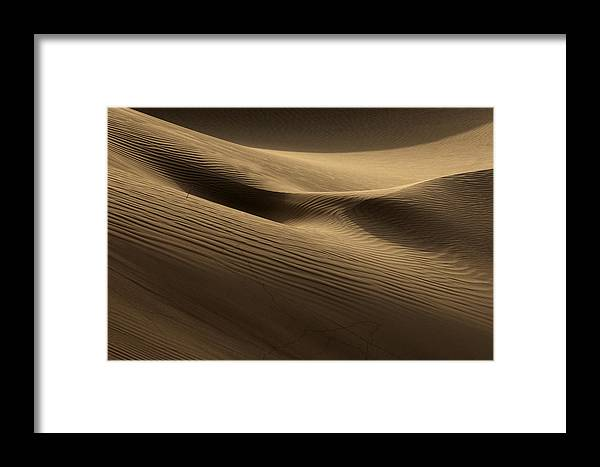 Dunes Framed Print featuring the photograph Sand Dune by Phil Crean
