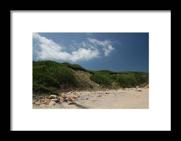 Beach Framed Print featuring the photograph Sand Dunes I by Jeff Porter