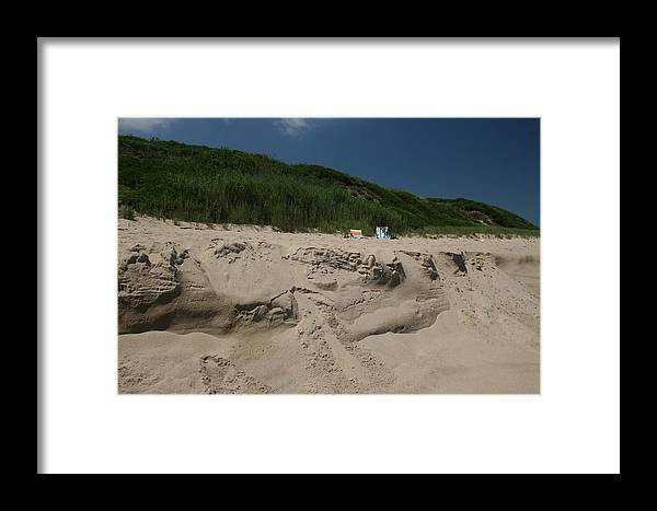 Beach Framed Print featuring the photograph Sand Dunes II by Jeff Porter