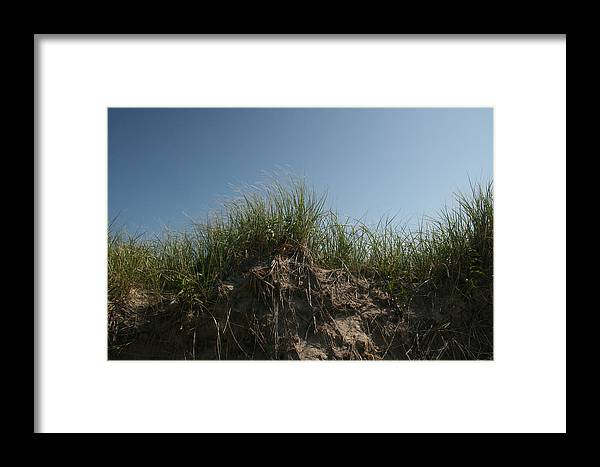 Beach Framed Print featuring the photograph Sand Dunes IIi by Jeff Porter