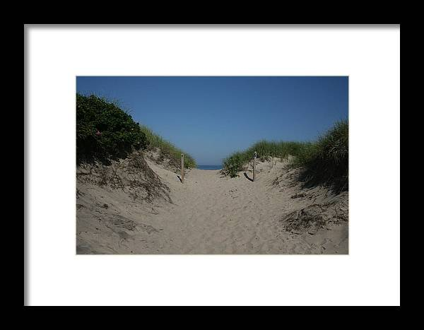 Beach Framed Print featuring the photograph Sand Dunes Iv by Jeff Porter