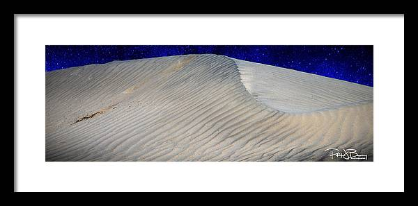 Desert Framed Print featuring the photograph Sand Dunes by Patrick Boening