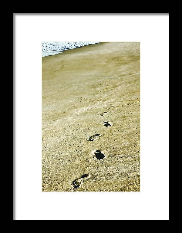 Beach Framed Print featuring the photograph Sand In Motion by JAMART Photography