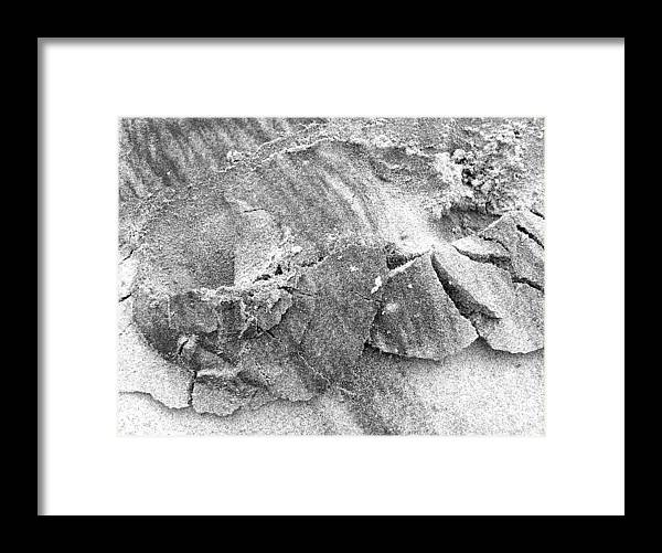 Nature Framed Print featuring the photograph Sand2 by Evguenia Men