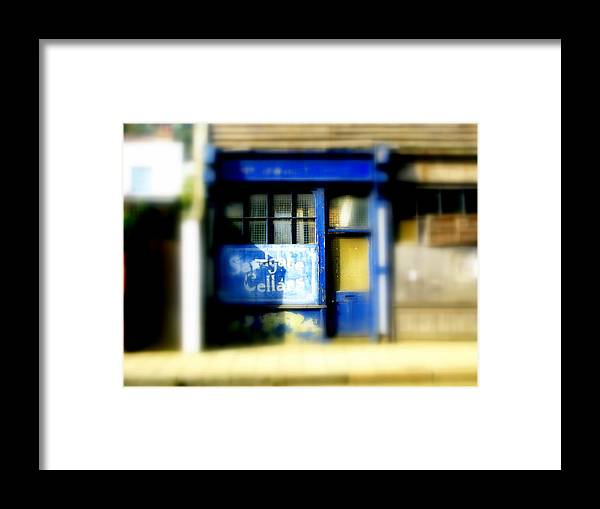 Architecture Framed Print featuring the photograph Sandgate Cellars by Dan McCarthy