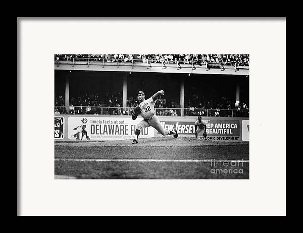 1966 Framed Print featuring the photograph Sandy Koufax (1935- ) by Granger