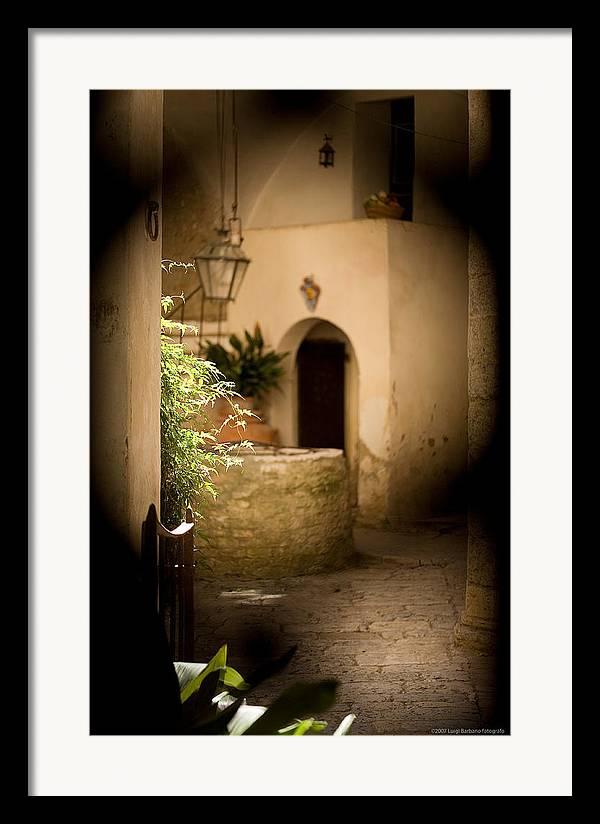 Italy Framed Print featuring the photograph Sangimignano 1 by Luigi Barbano BARBANO LLC