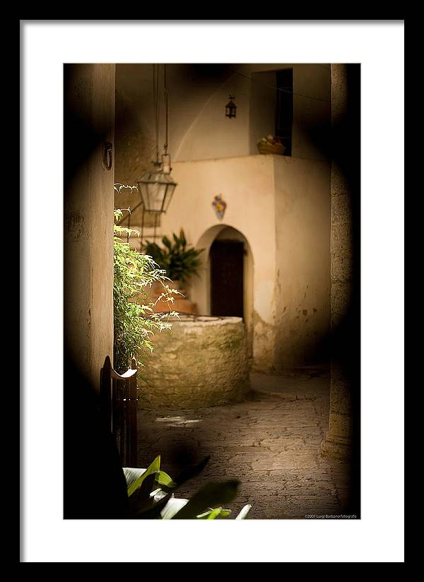 Italy Framed Print featuring the photograph Sangimignano 1 by Luigi Barbano BARBANO LLC