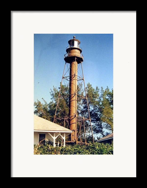 Landscape Photographs Framed Print featuring the photograph Sanibel Island Light by Frederic Kohli