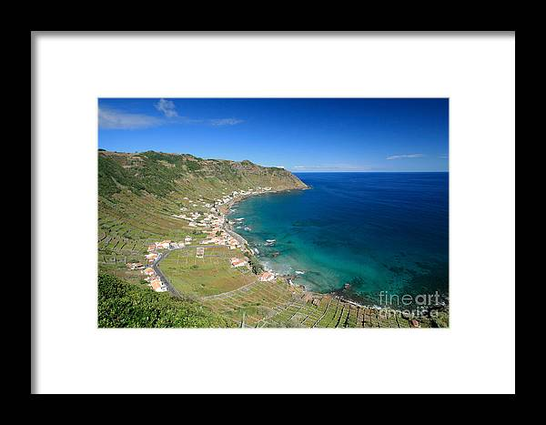 Azores Framed Print featuring the photograph Santa Maria Azores II by Gaspar Avila