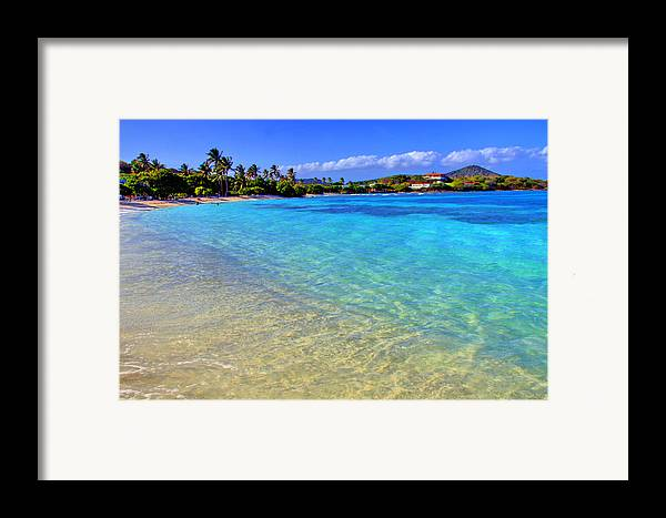 Beach Framed Print featuring the photograph Sapphire Glow by Scott Mahon