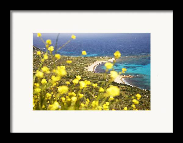 Sardinia Framed Print featuring the photograph Sardinia by Elisa Locci