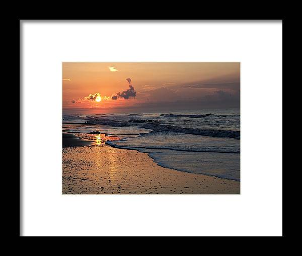 Sunrise Framed Print featuring the photograph Saturday Morning by Jerry Connally