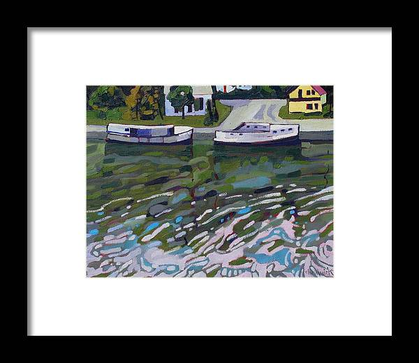 891 Framed Print featuring the painting Saugeen Shores by Phil Chadwick