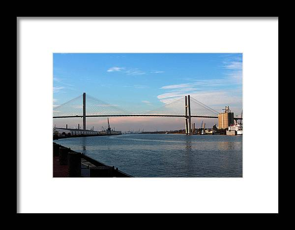 Savannah Framed Print featuring the photograph Savannah Span by Christopher Scirto