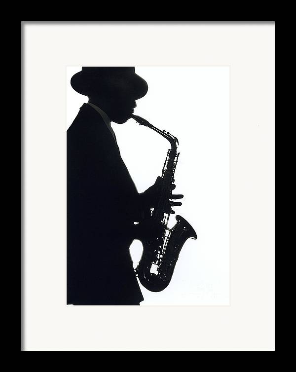 Sax Framed Print featuring the photograph Sax 2 by Tony Cordoza