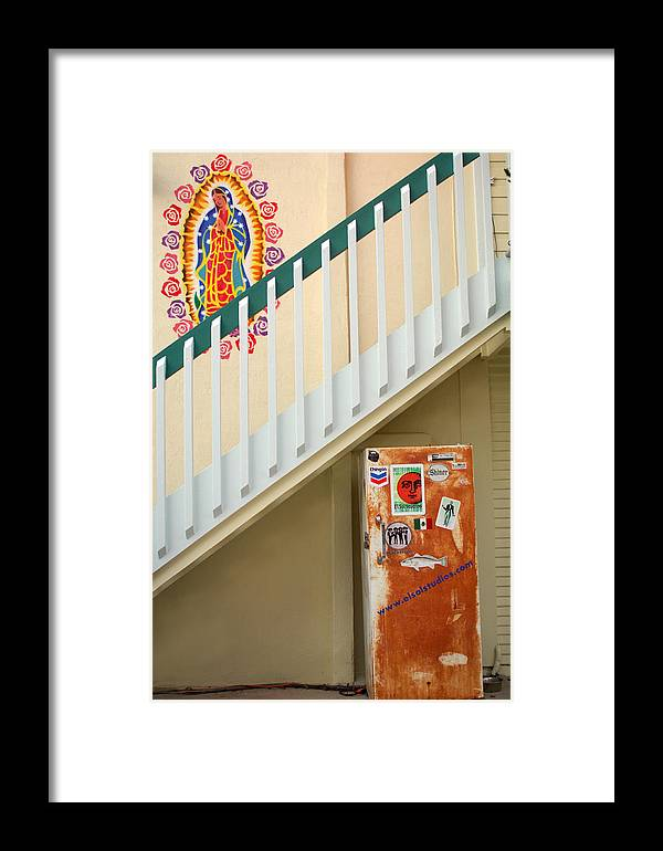 Urban Framed Print featuring the photograph Saying Grace by Jill Reger