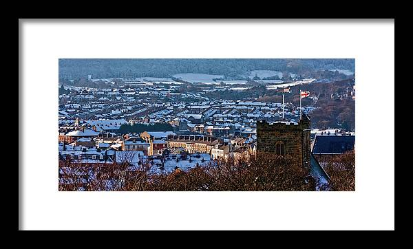 Scarborough Framed Print featuring the photograph Scarborough Town by Ken Yan