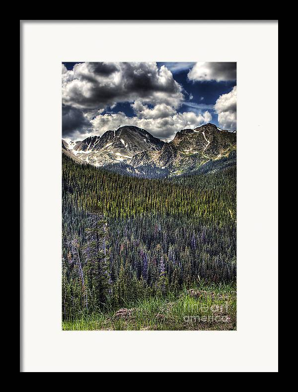 Landscape Framed Print featuring the photograph Scenic View From The Highway by Pete Hellmann