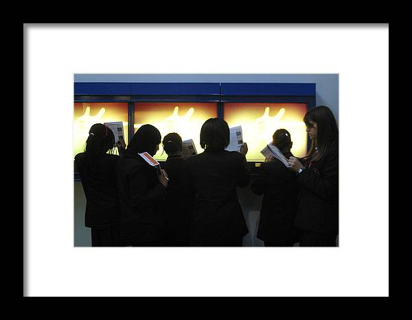 Jez C Self Framed Print featuring the photograph School Group by Jez C Self