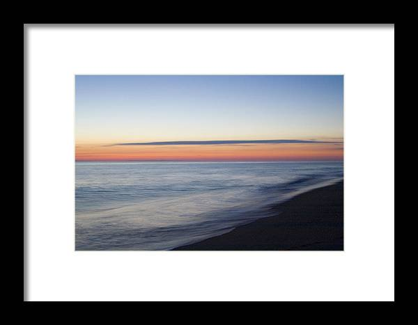Nantucket Framed Print featuring the photograph Sciasconset Morning Nantucket by Henry Krauzyk