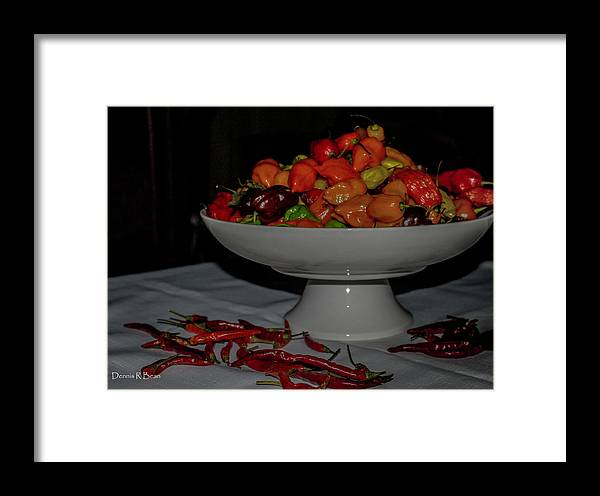 Peppers Framed Print featuring the photograph Scorpions by Dennis R Bean