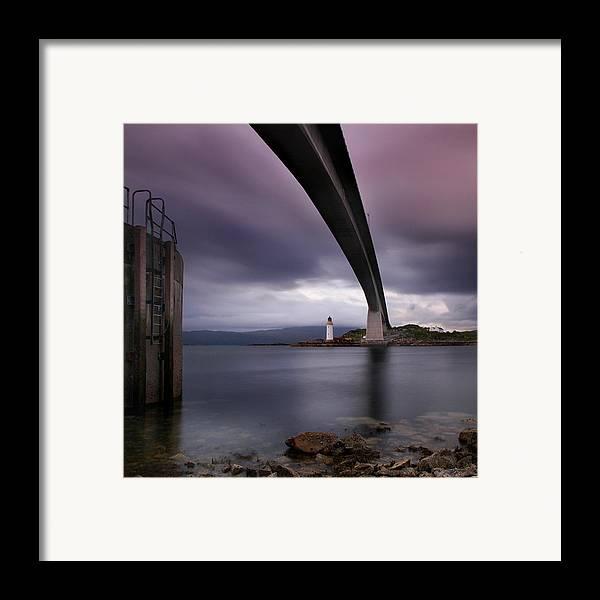 Scotland Framed Print featuring the photograph Scotland Skye Bridge by Nina Papiorek