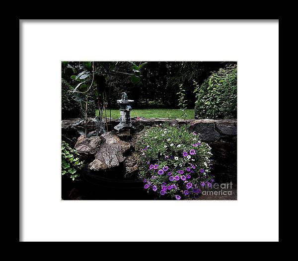 Porch Framed Print featuring the photograph Scotopic Vision 2 - The Porch by Pete Hellmann