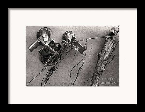 Scotopic Framed Print featuring the photograph Scotopic Vision 8 - Tub by Pete Hellmann