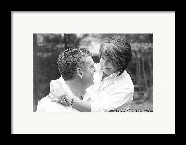 Framed Print featuring the photograph Scott And Sandi 2 by Lisa Johnston