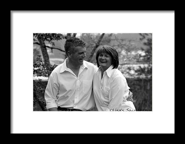 Framed Print featuring the photograph Scott And Sandi 3 by Lisa Johnston