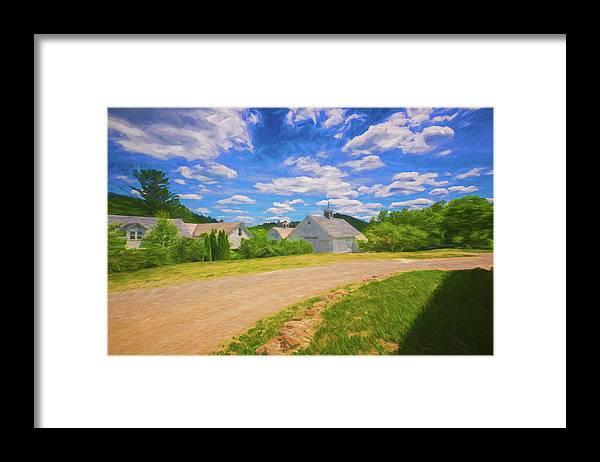 Scott Farm Vermont Framed Print featuring the photograph Scott Farm Vista by Tom Singleton