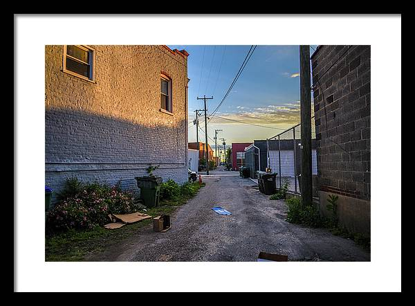 Rva Framed Print featuring the photograph Scott's Addition Alley Way by Doug Ash
