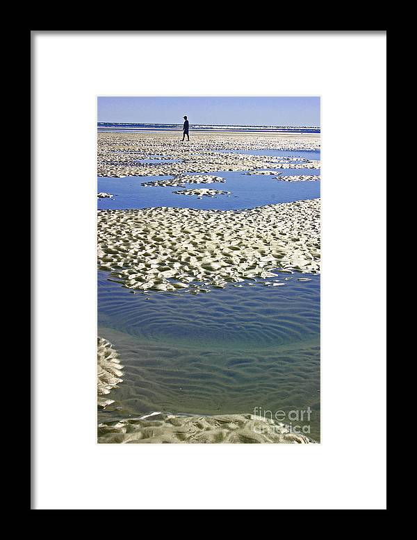 Ocean Framed Print featuring the photograph Sea Levels by Beebe Barksdale-Bruner