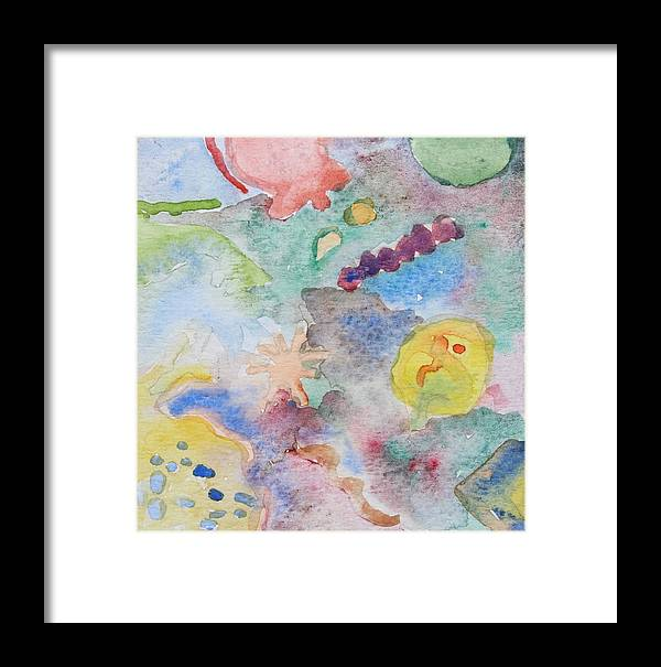 Fish Framed Print featuring the photograph Sea Life by Modern Art