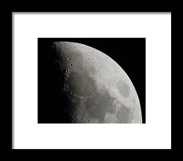 Moon Framed Print featuring the photograph Sea Of Tranquility by Paul Gibson