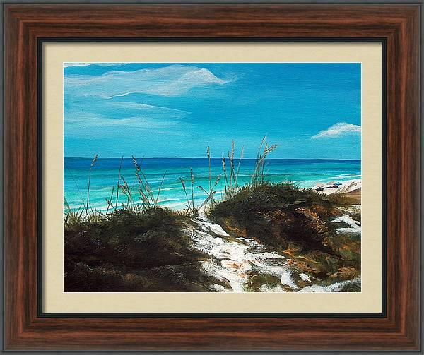 Seagrove Beach Florida by Racquel Morgan